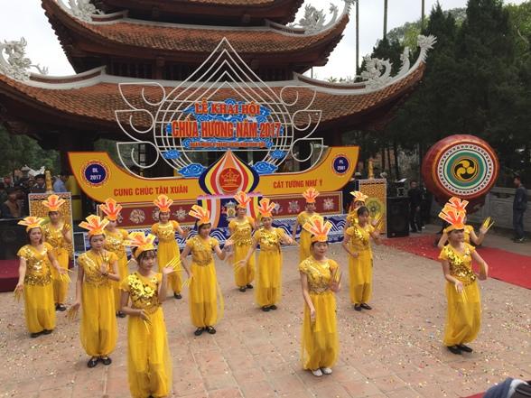 春季庙会在越南各地纷纷举行