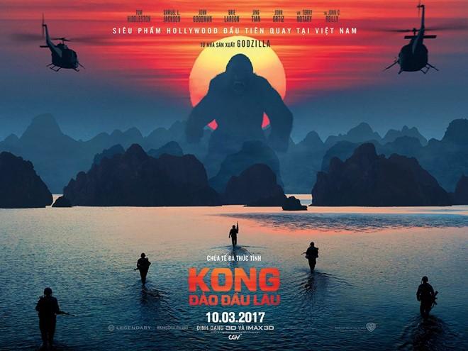 《金刚:骷髅岛》在越南上映