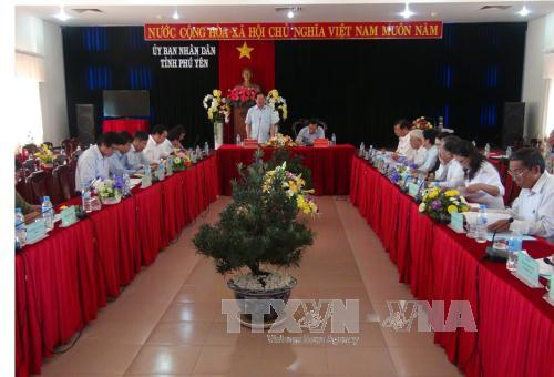 Delegation of National Assembly Committee for Ethnic Minority Affairs works in Phu Yen province