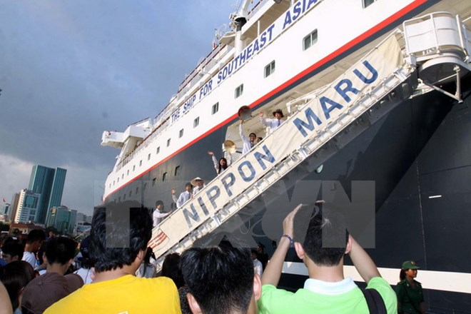 Ship for Southeast Asian Youth Program to arrive in Ho Chi Minh city