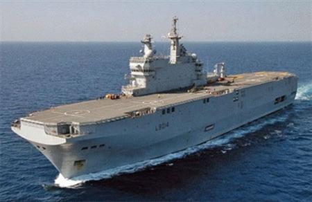 French warship visits Vietnam