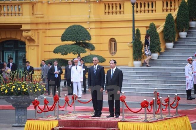 International media highlight Obama's visit to Vietnam