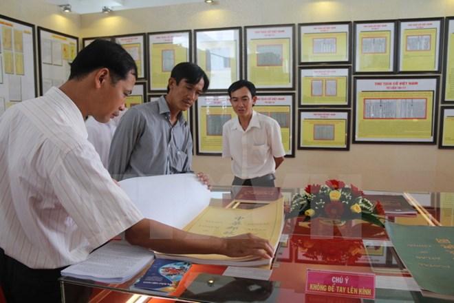 Exhibition on Vietnam's sovereignty over Hoang Sa and Truong Sa