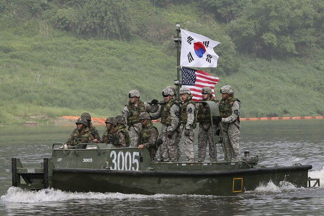 South Korea, US conduct joint maritime drill