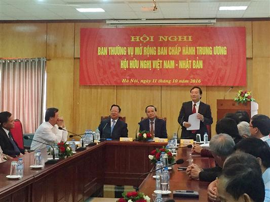10/12/2016 - 16:42   (VOVworld) – A conference of the 6th Executive Committee of the Vietnam-Japan Friendship Association opened on Tuesday in Hanoi.    More