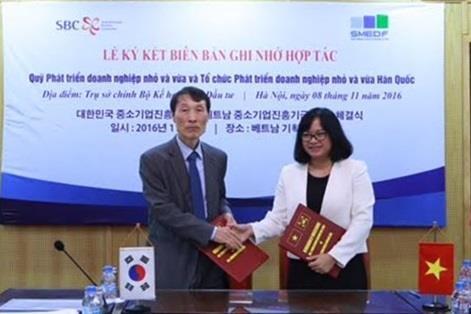 Vietnam, RoK funds cooperate in SME development