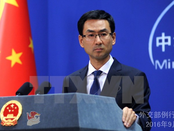 China opposes unilateral sanctions beyond UN specifications