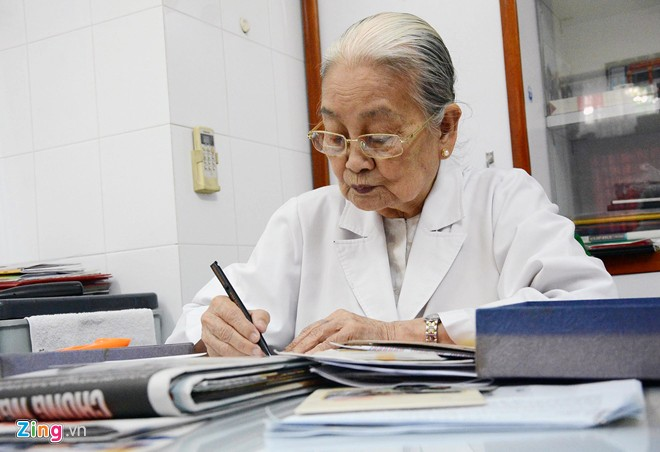 Ta Thi Chung, a Doctor of Agent Orange patients