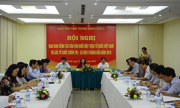Social organizations urged to expand mass mobilization