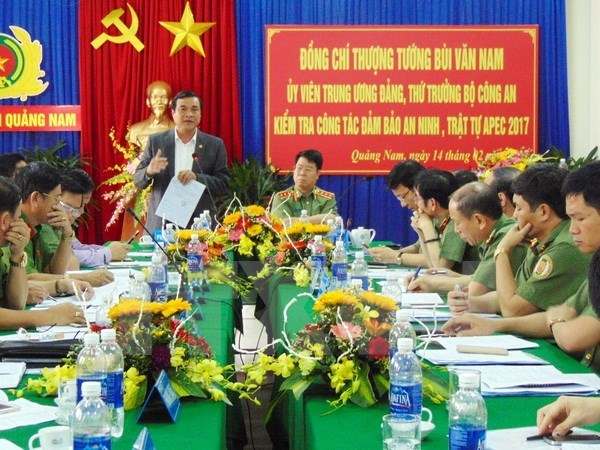 Quang Nam province assures security for APEC 2017