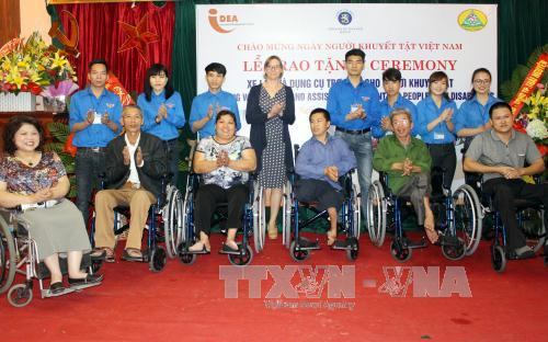 Vietnam cares for people with disabilities