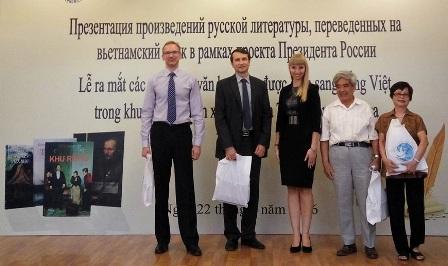 Thêm 3 tác phẩm văn học Nga được dịch và giới thiệu tại Việt Nam
