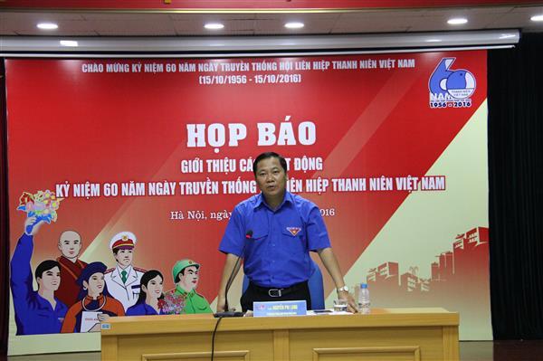 Nhiều hoạt động kỷ niệm 60 năm Truyền thống Hội Liên hiệp thanh niên Việt Nam