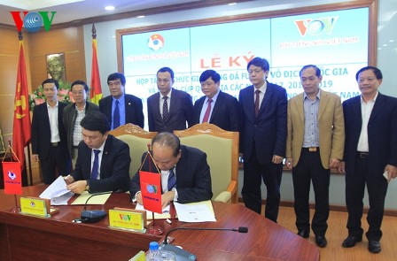 Đài Tiếng nói Việt Nam hợp tác cùng Liên đoàn bóng đá VN tổ chức các giải futsal từ năm 2017- 2019