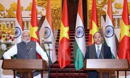 Năm 2017: nhiều dấu mốc quan trọng trong quan hệ Việt- Ấn