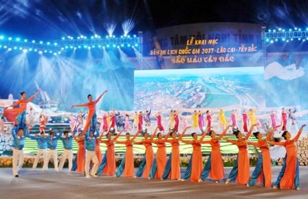 Năm Du lịch quốc gia 2017 mang đậm nét văn hóa của cộng đồng dân tộc tại Lào Cai