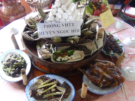 Món ăn truyền thống của người Giẻ Triêng