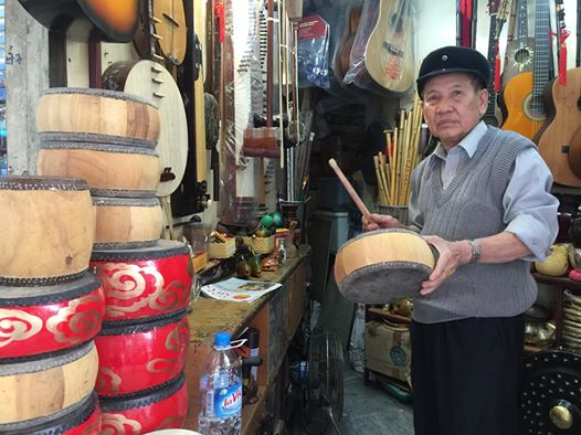 ฝามจี๊ติ๋ง – ผู้ทำกลองที่ใหญ่ที่สุดในเวียดนาม