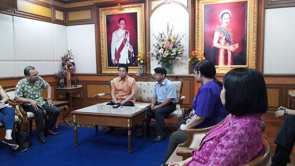 ภารกิจของคณะผู้สื่อข่าวสถานีวิทยุเวียดนามในประเทศไทย