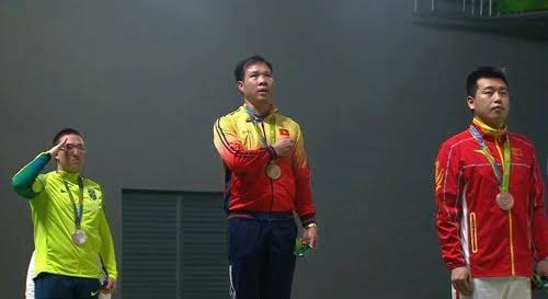 นักกีฬายิงปืนหว่างซวนวิงห์ ความภาคภูมิใจของกีฬาเวียดนาม
