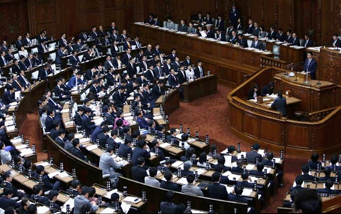 รัฐสภาญี่ปุ่นอนุมัติข้อตกลงทีพีพี