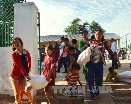 กิจกรรมต้อนรับปีใหม่ประเพณีของชาวเวียดนามในต่างประเทศ