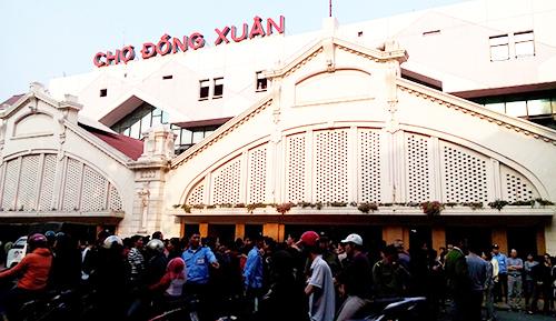 เที่ยวตลาด ด่งซวน ในกรุงฮานอย