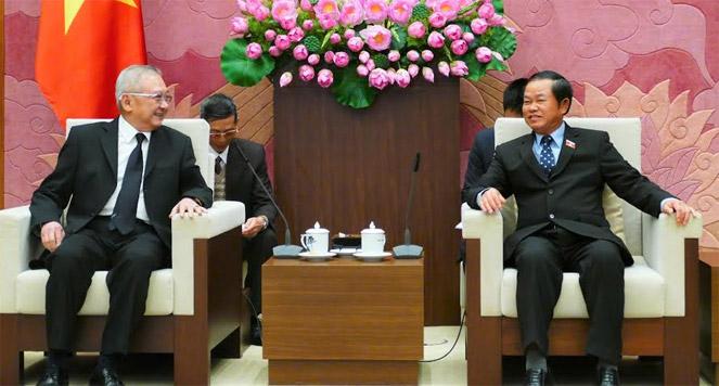รองประธานรัฐสภาเวียดนามให้การต้อนรับกลุ่มส.ส.มิตรภาพไทย – เวียดนาม