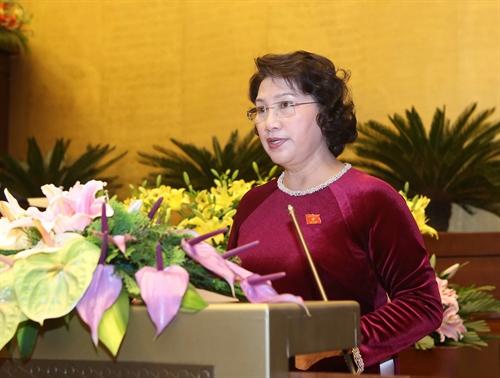 Quốc hội tiếp tục chương trình kỳ họp thứ 11