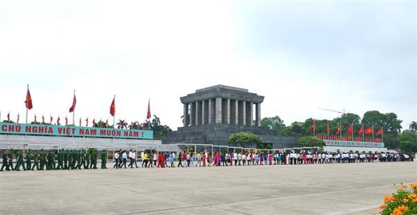 Các hoạt động kỷ niệm 126 năm ngày sinh Chủ tịch Hồ Chí Minh