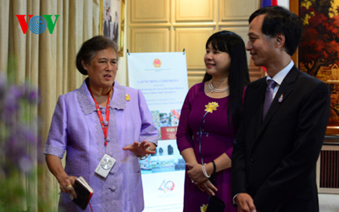 Công chúa Thái Lan ra mắt cuốn sách ảnh về Việt Nam