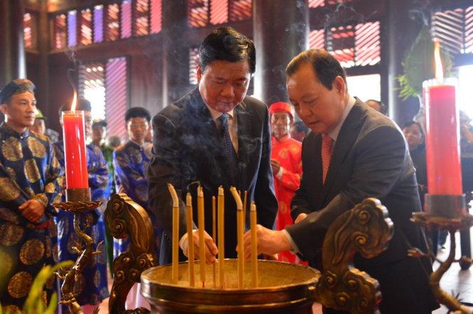 Thành phố Hồ Chí Minh khánh thành Đền thờ Đức Lễ Thành Hầu Nguyễn Hữu Cảnh