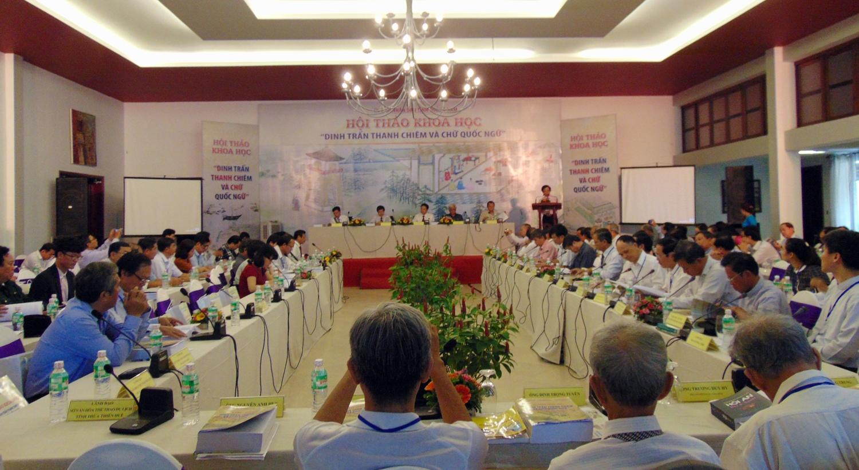 Hội thảo Khoa học Dinh trấn Thanh Chiêm và chữ Quốc ngữ
