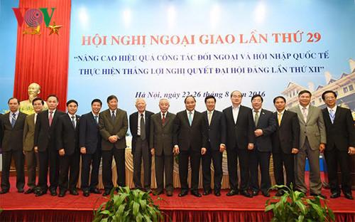 Ngoại giao kiến tạo cục diện chiến lược, môi trường an ninh, phát triển đất nước