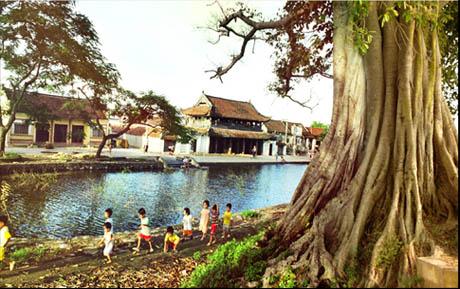 Làng Hành Thiện và kiến trúc độc đáo giữa vùng đất Nam Định