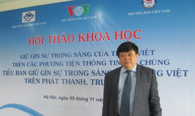 Đài Tiếng nói Việt Nam góp phần giữ gìn và lan tỏa giá trị Tiếng Việt