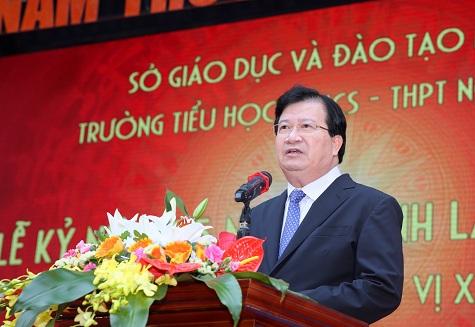 Phó Thủ tướng Trịnh Đình Dũng dự Lễ kỷ niệm 25 năm thành lập Trường Nguyễn Siêu
