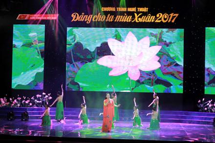 """Chương trình nghệ thuật """"Đảng cho ta mùa xuân"""" năm 2017"""