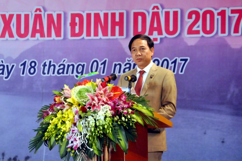 Quảng Ninh khai trương Hội chợ OCOP 2017 và Hội hoa Xuân Đinh Dậu