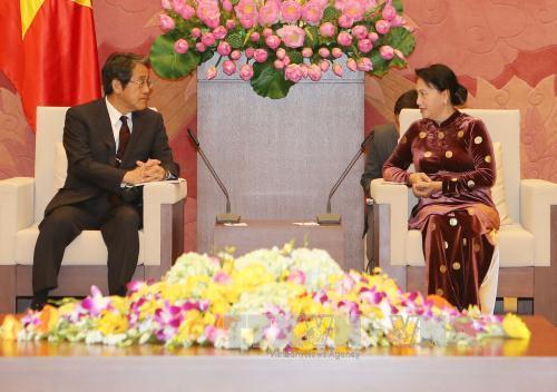 Chủ tịch Quốc hội Nguyễn Thị Kim Ngân tiếp Đại sứ Nhật Bản Umeda Kunio