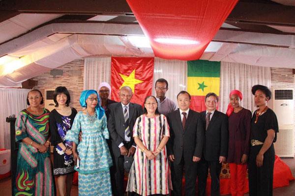Việt Nam tăng cường hợp tác trên nhiều lĩnh vực với Senegal