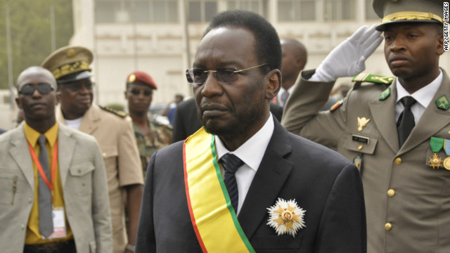 Mali's new president sworn in