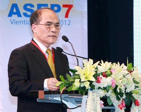 ASEP 7 opens in Vientiane