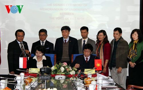 VOV promotes cooperation with RRI