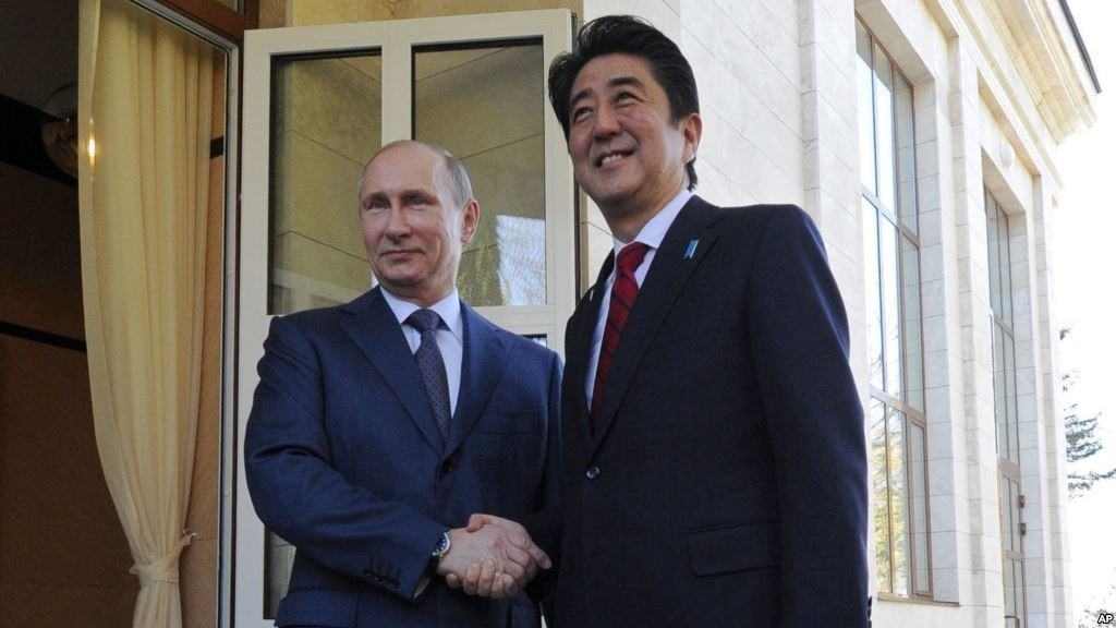 Territorial dispute tops agenda of Japanese PM's visit to Russia