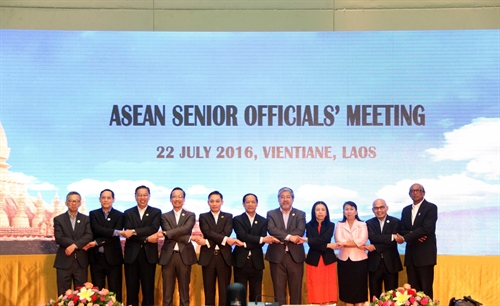 ASEAN Senior Officials Meeting opens in Laos