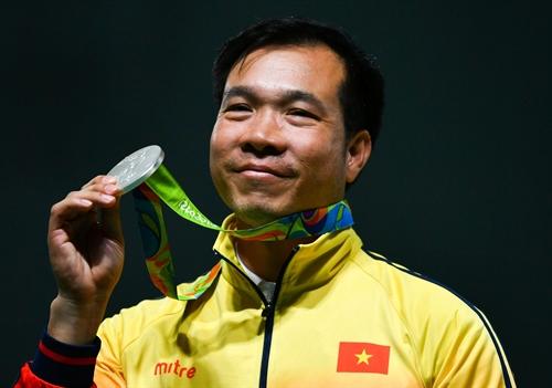Hoang Xuan Vinh among top 10 medalists at 2016 Rio Olympics