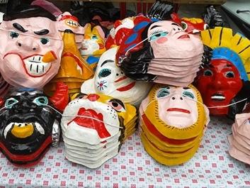 Vui Tết Trung thu cùng mặt nạ giấy bồi truyền thống