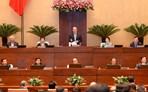 Quốc hội chất vấn và trả lời chất vấn về nợ công, quy hoạch đô thị, phát triển nông nghiệp bền vững