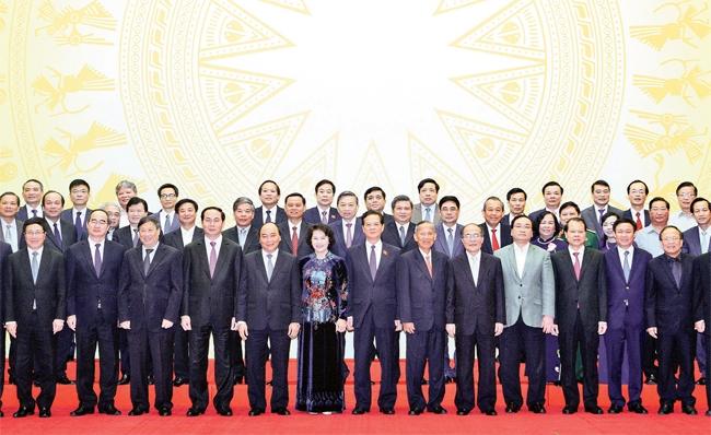 Gặp mặt các thành viên chính phủ nhiệm kỳ khoá 12, 13